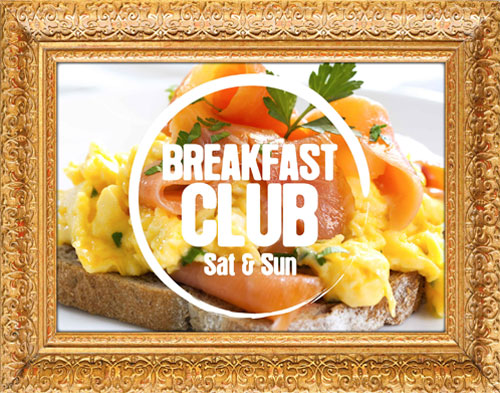 Breakfast club menu