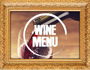 Wine Menu Frame